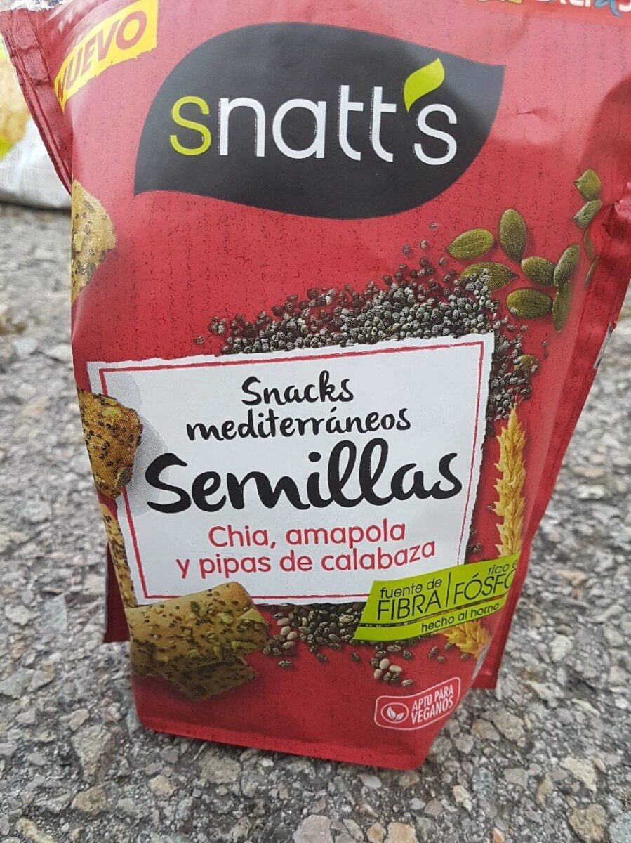 Snacks méditerranée semillas - Product - es
