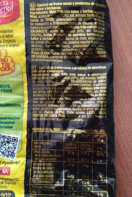 Mister Corn mix 5 - Información nutricional