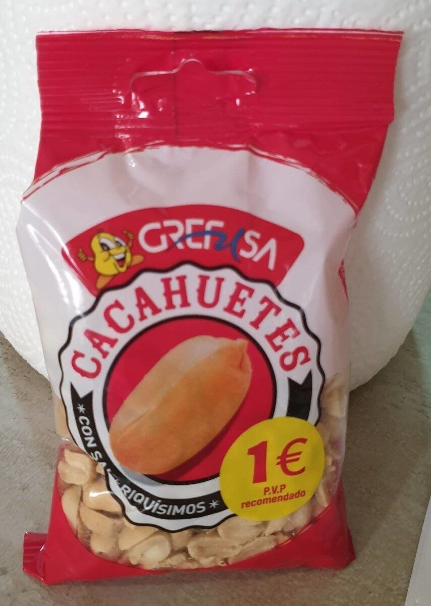 Cacahuetes - Producto - es