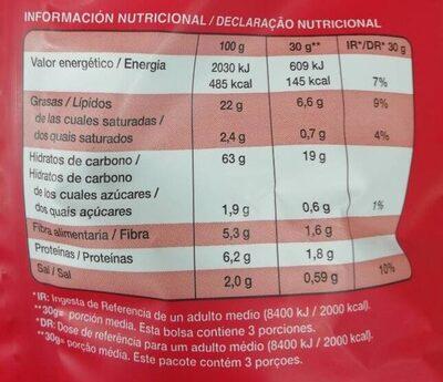 Snack Quinoa tomate y perejil - Informations nutritionnelles - es