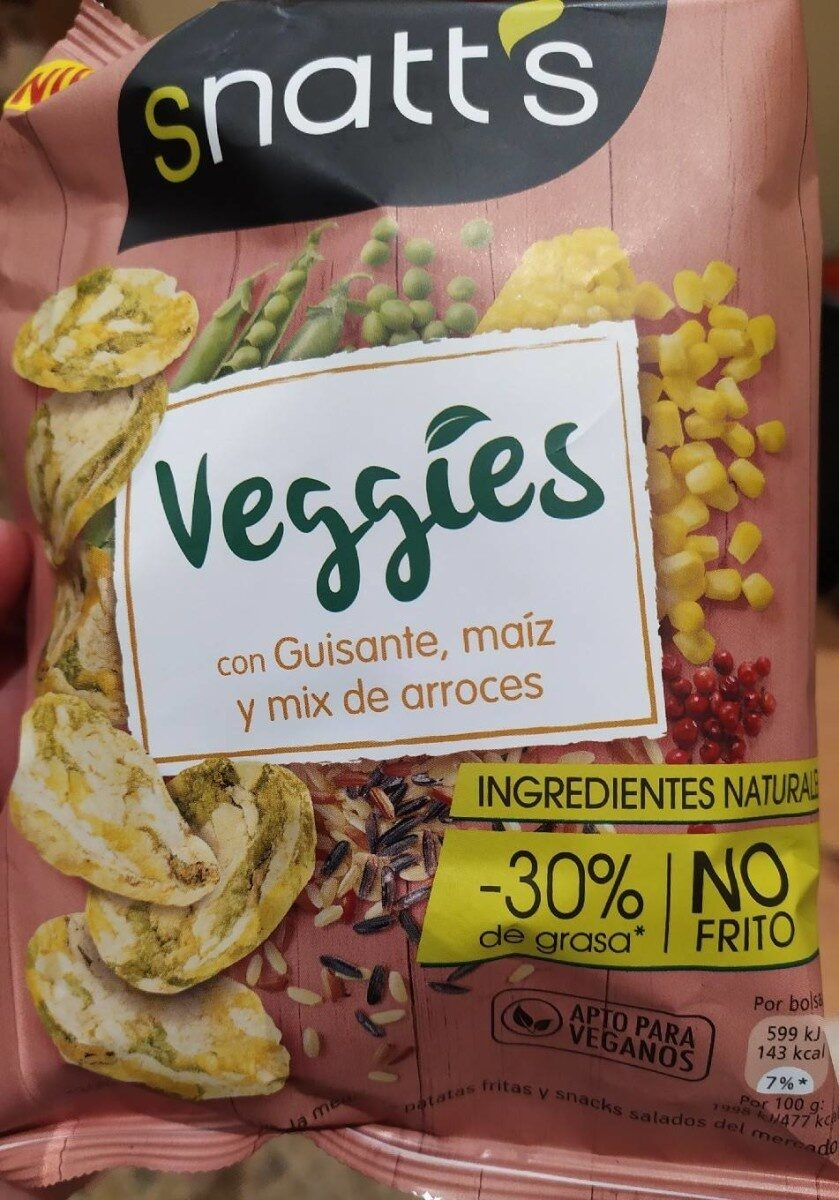 Veggies con guisantes maíz y mix de arroces - Product