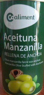 Aceituna Manzanilla rellena de anchoa