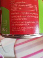 Tomate pelado - Ingredients - es