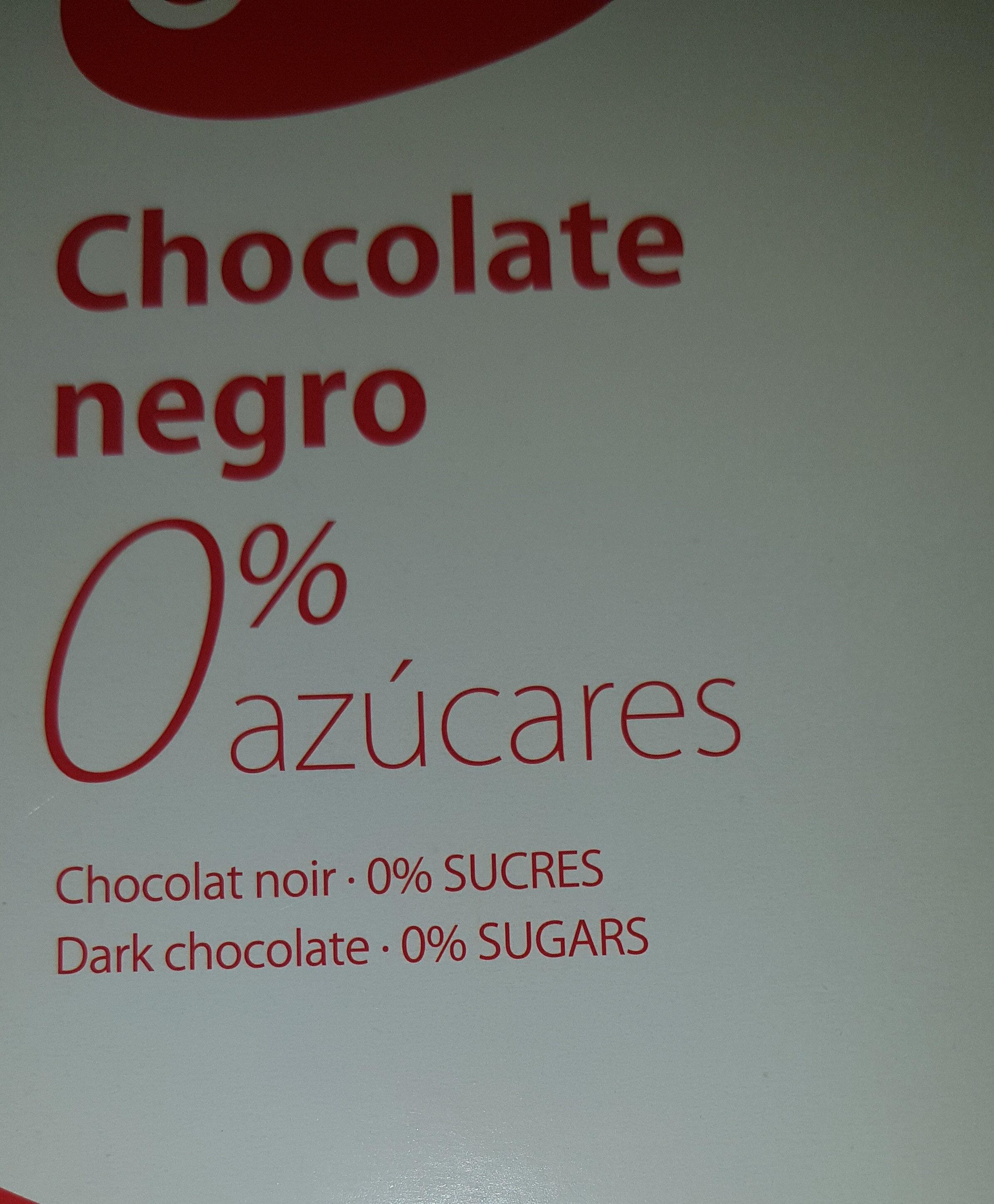 Chocolate negro - Producte - es