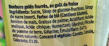 Dulci Pica - Ingredienti - fr