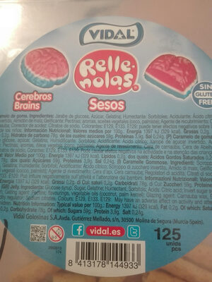 Rellenas, Cerebros Brains - Producte