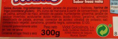 Ritmo - Ingredients - fr