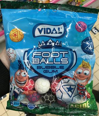 calorie Foot Balls Bubble Gum Acide