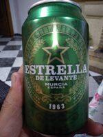 Cerveza Estrella de Levante - Producto