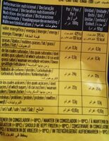 Kriathr ices - Informations nutritionnelles - es