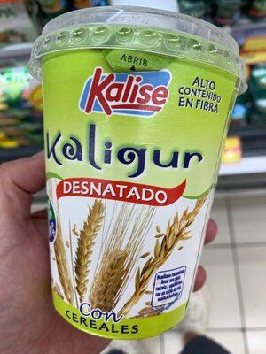 Kaligur desnatado con cereales - Producto