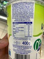 Kaligur desnatado con cereales - Información nutricional