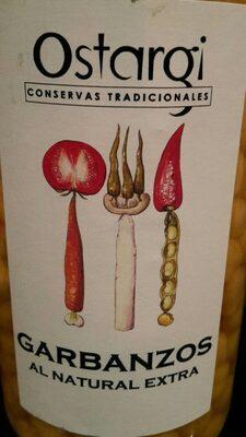 Garbanzos al natural extra - Product - fr