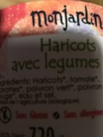 Haricots avec legumes - Ingredientes - fr