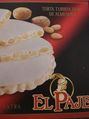 Torta Turrón Duro de Almendra