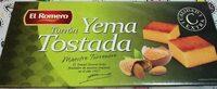 Turrón yema tostada - Produit