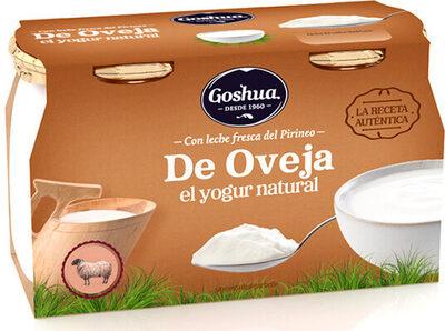 Yogur natural de leche de oveja - Producto - es