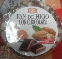 Pan de higo con chocolate - Producte