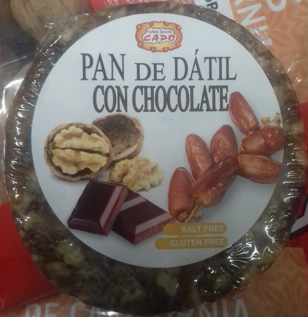 Pan de dátil con chocolate - Producto