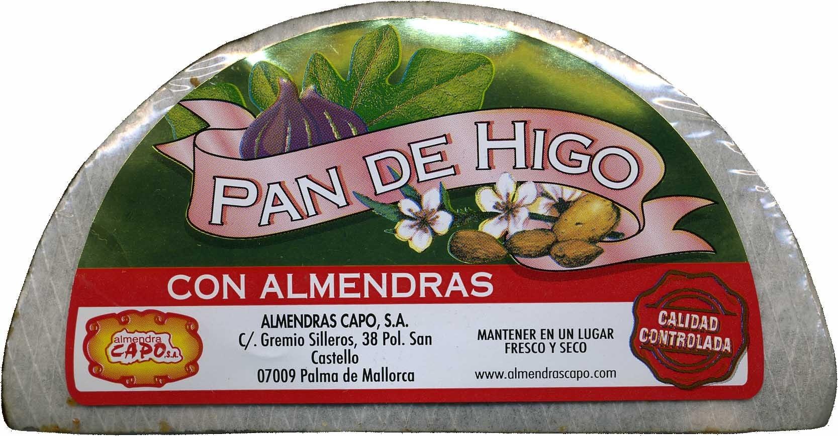 Pan de higo con almendras - Producto - es