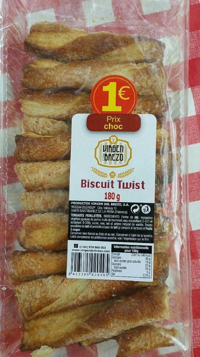 Biscuit twist - Product - fr