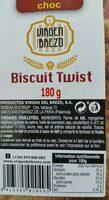Biscuit twist - Nutrition facts - fr