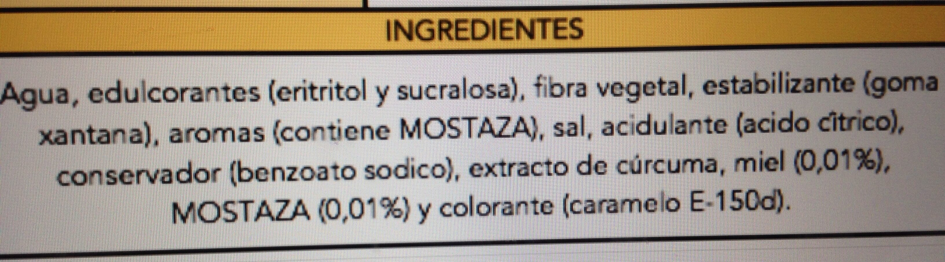 Honey Mustard - Ingredientes - es
