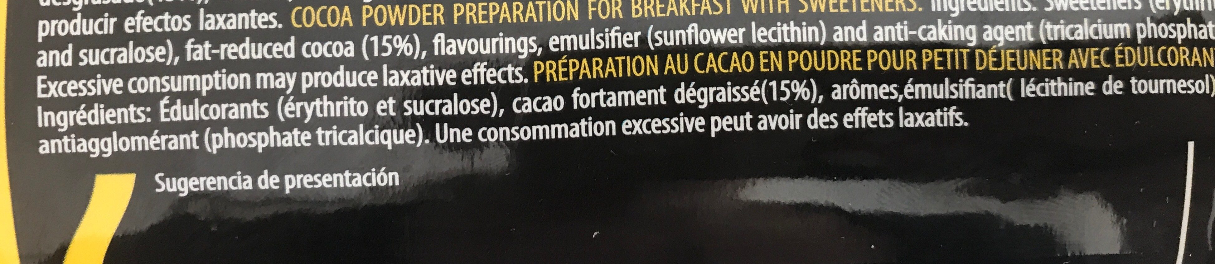 Cocoa powder - Ingredients - fr