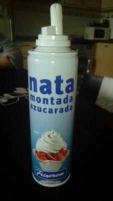 Nata Uht Montada Azucarada - Producto - es