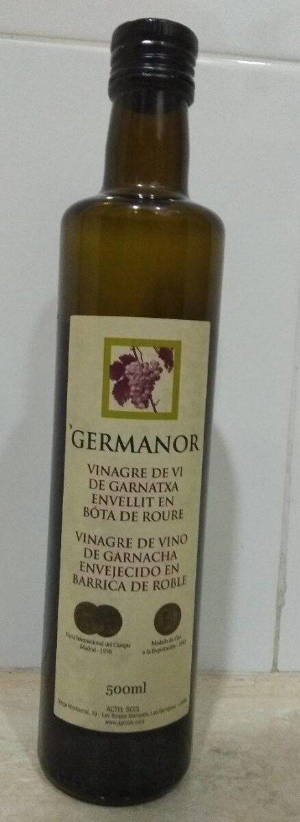 Germanor vinagre de vino de garnacha - Producte - es