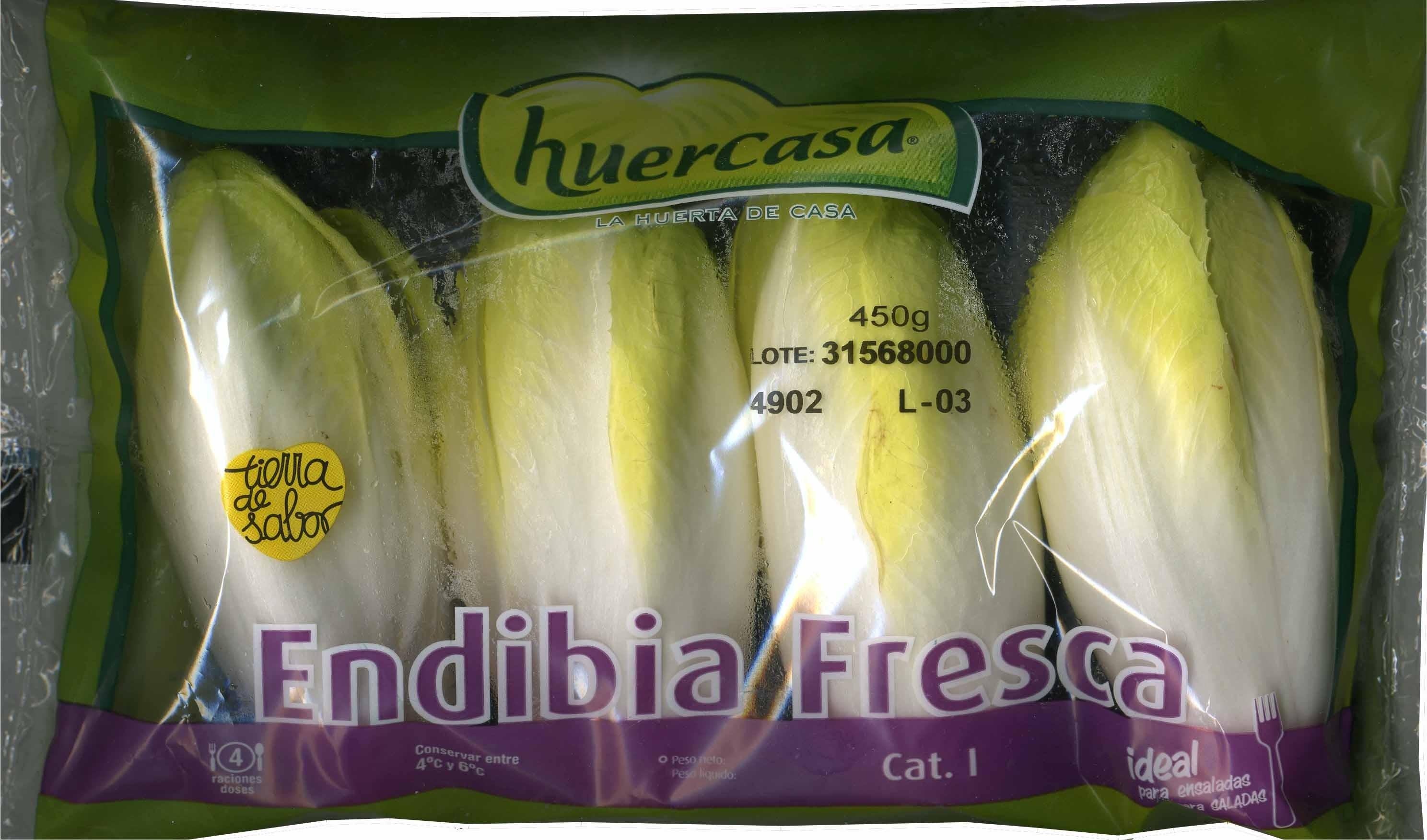 Endibia fresca - Produit - es