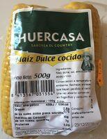 Maiz dulce cocido - Producto - es