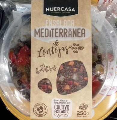 Ensalada mediterránea de lentejas con hortalizas - Producto