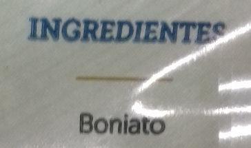 Boniato cocido en dados - Ingredients