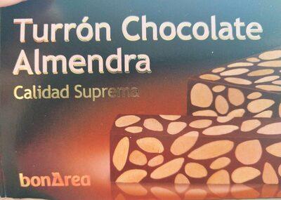 Torró xocolata ametlla