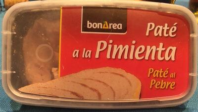 Paté al pebre - Producto