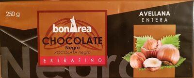Chocolate Negro con Avellanas