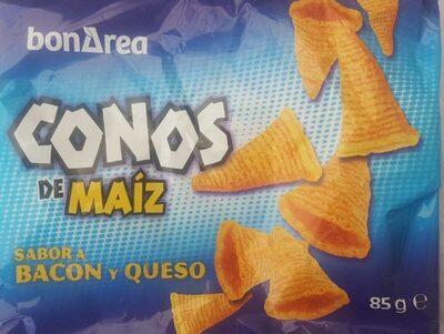 Conos de maiz sabor bacon y queso - Prodotto - es