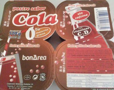 Gelatina sabor cola