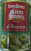 Olives Verdes Farcides d,Anxova - Producto