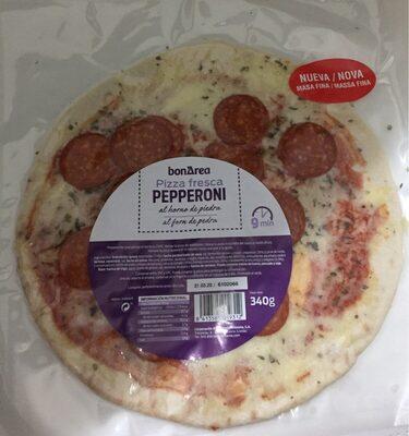 Pizza fresca pepperoni al horno de piedra - Producte - es