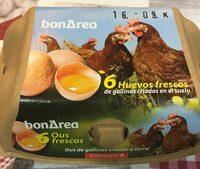 Huevos Frescos - Producte