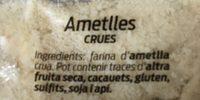 Almendras crudas molidas - Ingrédients - fr