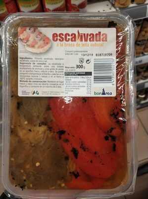 Escalivada a la brasa de lema natural - Producte