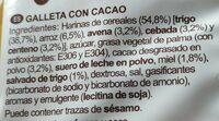 Minis cookies - Ingredientes - es
