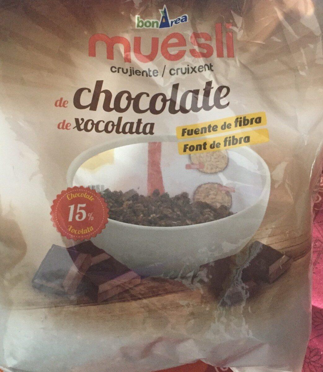 Muesli crujiente de chocolate - Product - es