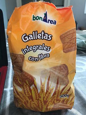 Galletas integrales con fibra - Product