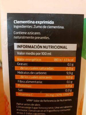 Clementina Exprimida - 1