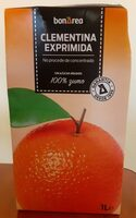 Clementina exprimida - Product