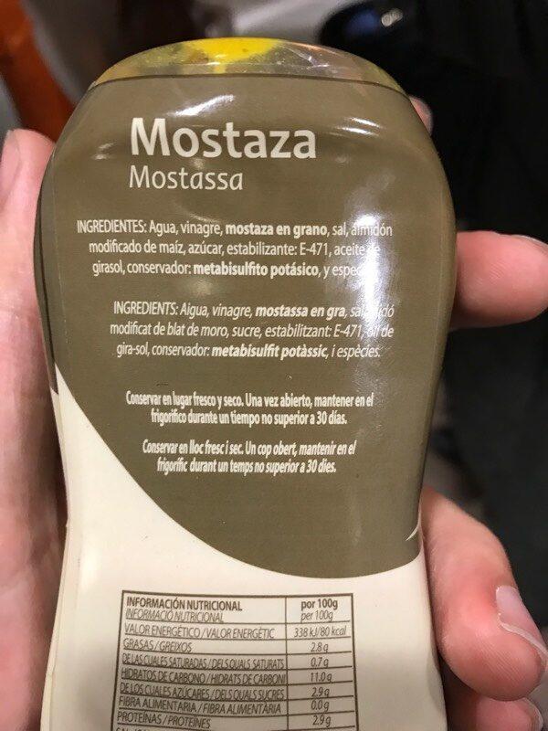 Mostaza - Ingrediënten